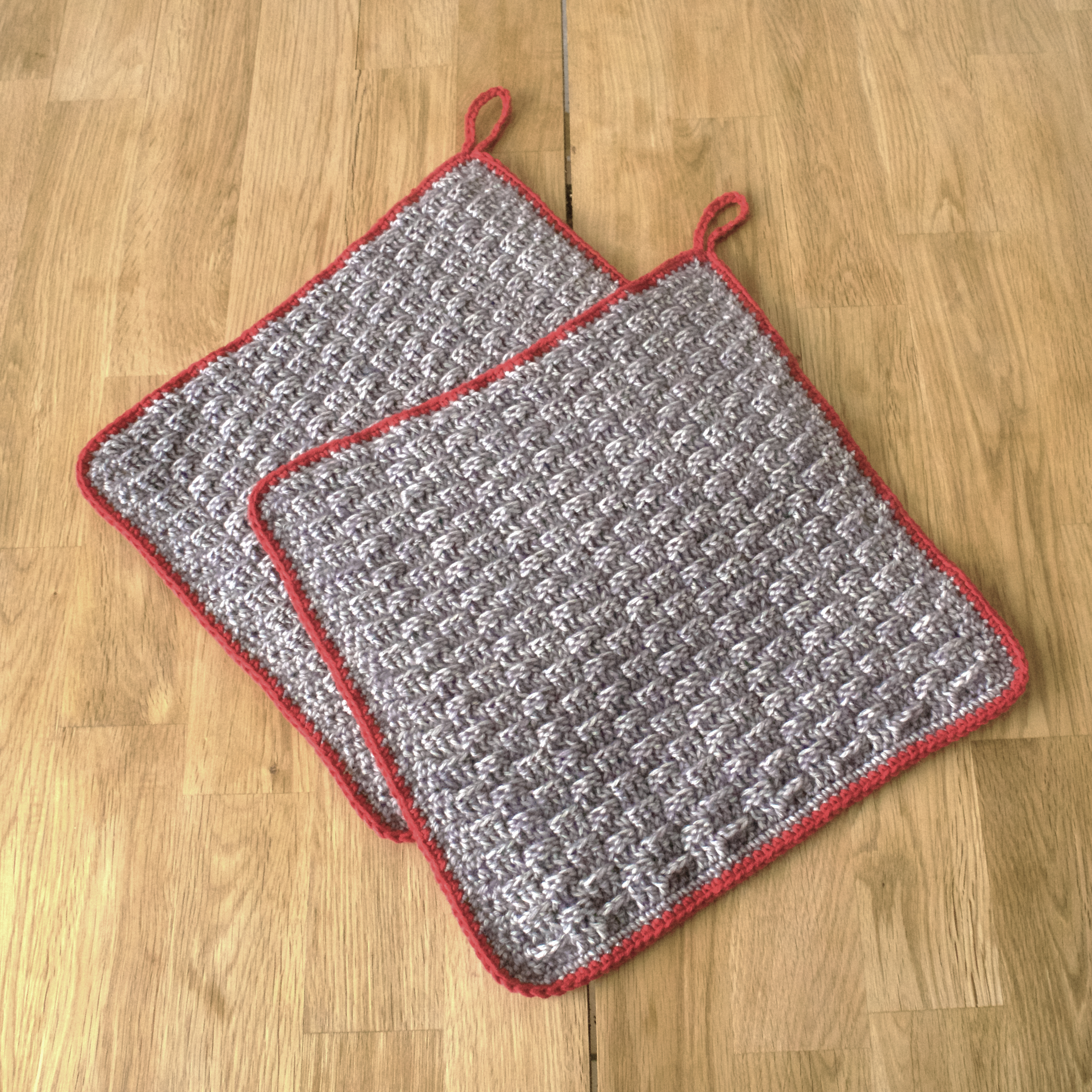 Easy Crochet Potholders Marta Selter Design